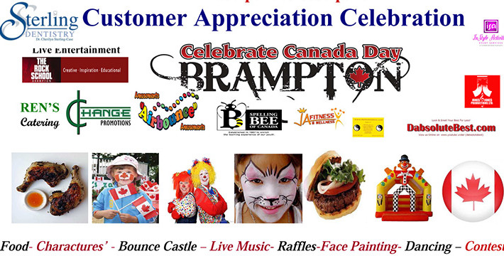 Celebrate Canada Day FREE BBQ – CP join Sterling Dentistry Customer Appreciation